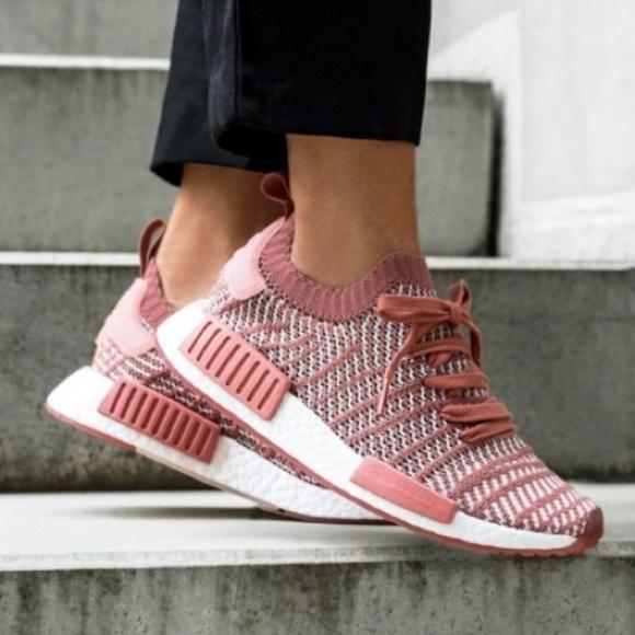 Nib Adidas Nmd R Stlt Primeknit Pink